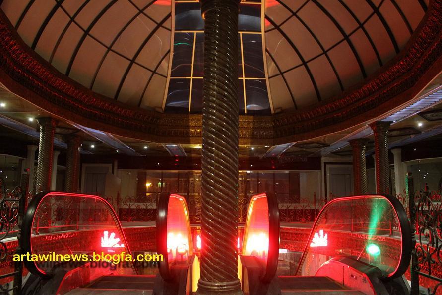 پله برقی های بازار طلافروشان اردبیل