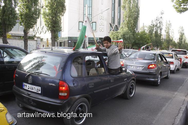 MG 5527 - تصاویر جشن و شادی اردبیلی ها از صعود تیم ملی ایران به جام جهانی  2014