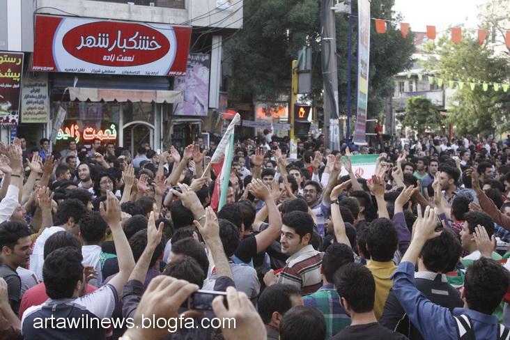MG 5546 - تصاویر جشن و شادی اردبیلی ها از صعود تیم ملی ایران به جام جهانی  2014