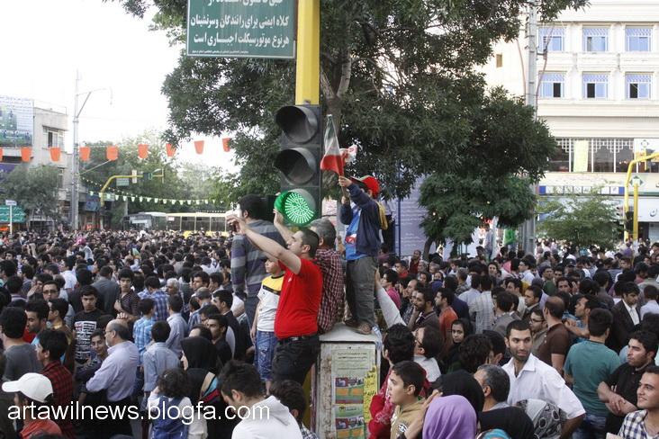 MG 5548 - تصاویر جشن و شادی اردبیلی ها از صعود تیم ملی ایران به جام جهانی  2014