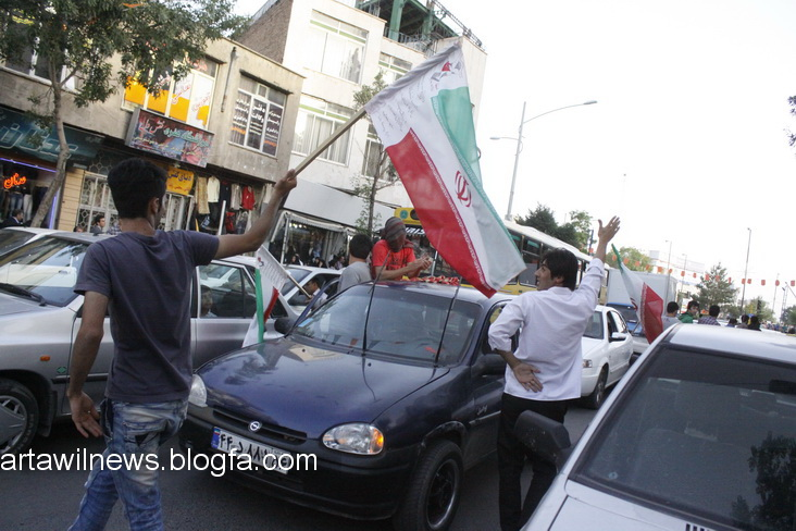 MG 5575 - تصاویر جشن و شادی اردبیلی ها از صعود تیم ملی ایران به جام جهانی  2014