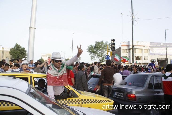 MG 5580 - تصاویر جشن و شادی اردبیلی ها از صعود تیم ملی ایران به جام جهانی  2014