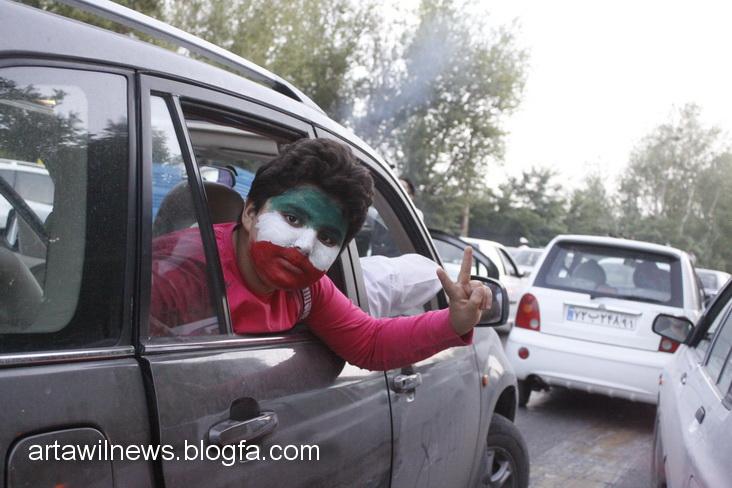 MG 5610 - تصاویر جشن و شادی اردبیلی ها از صعود تیم ملی ایران به جام جهانی  2014