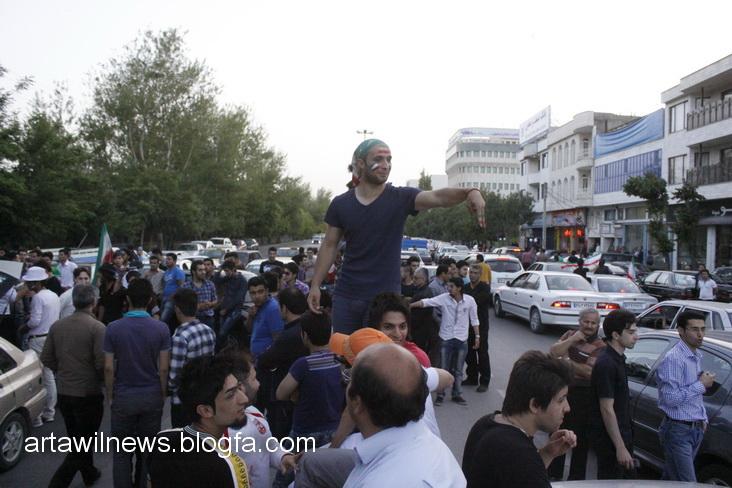 MG 5624 - تصاویر جشن و شادی اردبیلی ها از صعود تیم ملی ایران به جام جهانی  2014