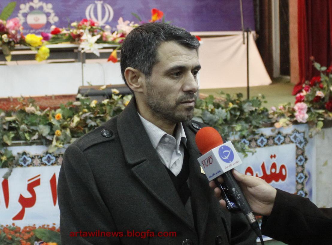 صدیف بدری شهردار اردبیل